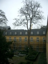 東校舎。屋根がない・・