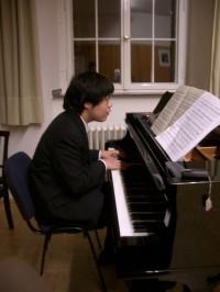 ピアノの発表会前のような・・・