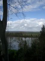 山の上よりセーヌ河