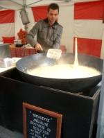 チーズの香りが食欲をそそる